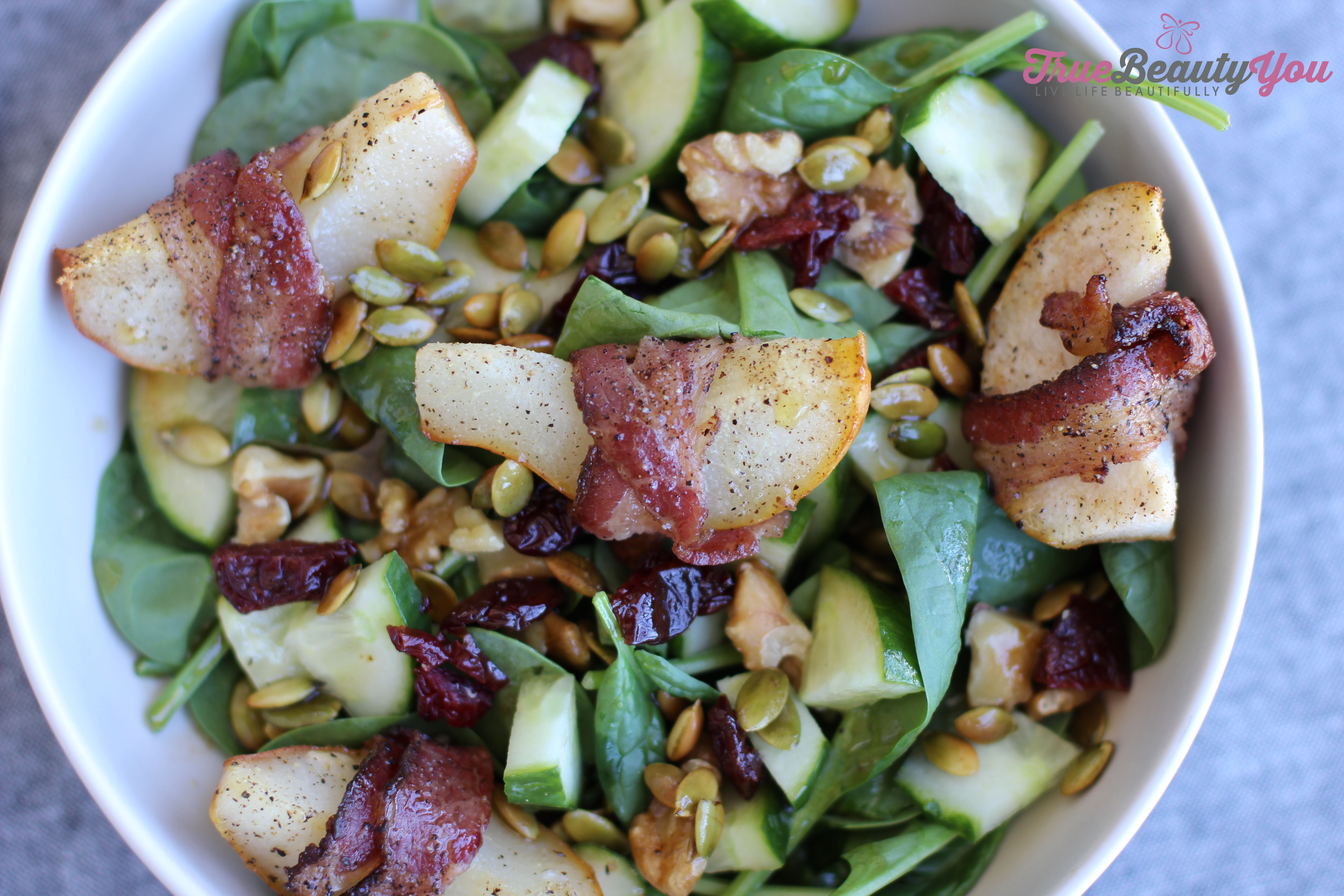 Sweet and Savory Fall Salad