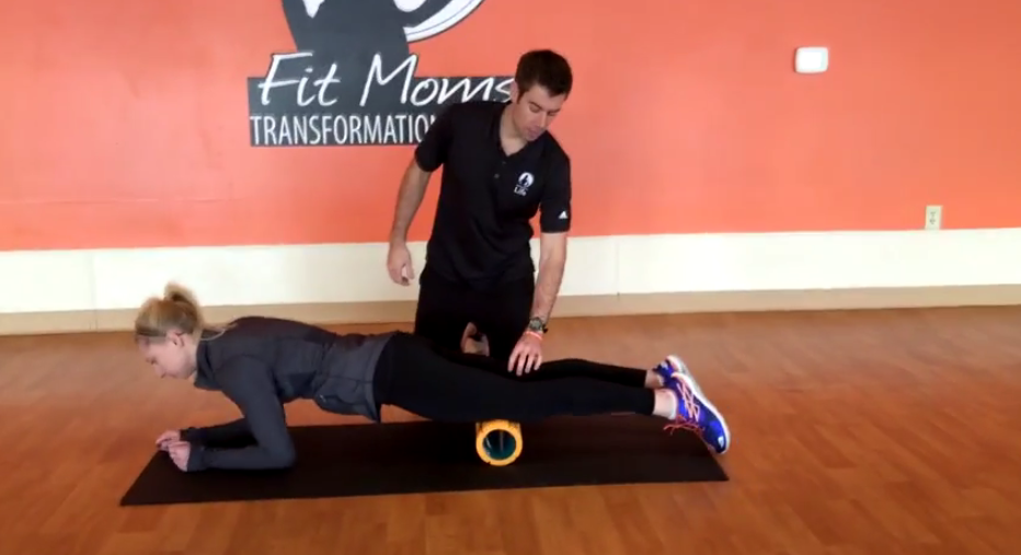 Specific Foam Rolling Routine to Reduce Knee and Back Pain, and Speed Up Recovery