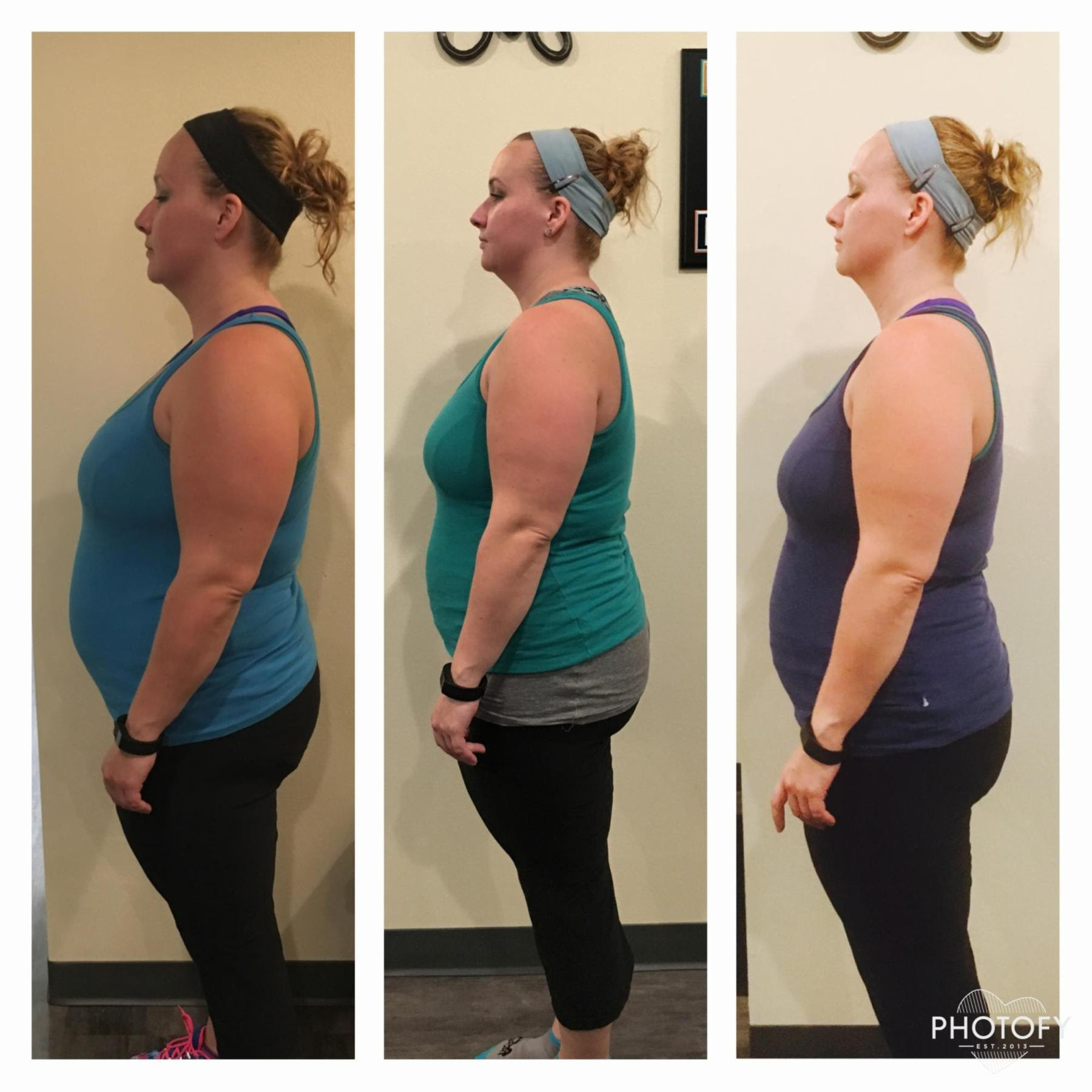 How Stephanie dropped 27.6 lbs in 12 Weeks and Went from 0 Pushups to 12